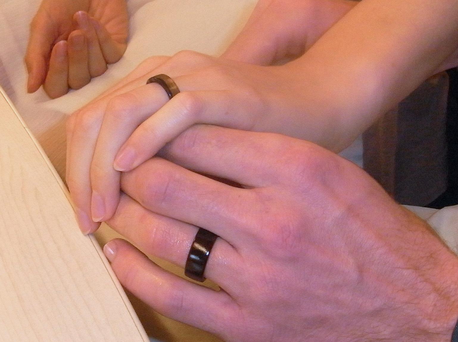 alliances en bois mariage zéro déchet